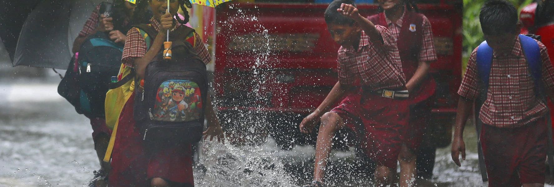 Monsoon in Kerala- The Carnival of the nature