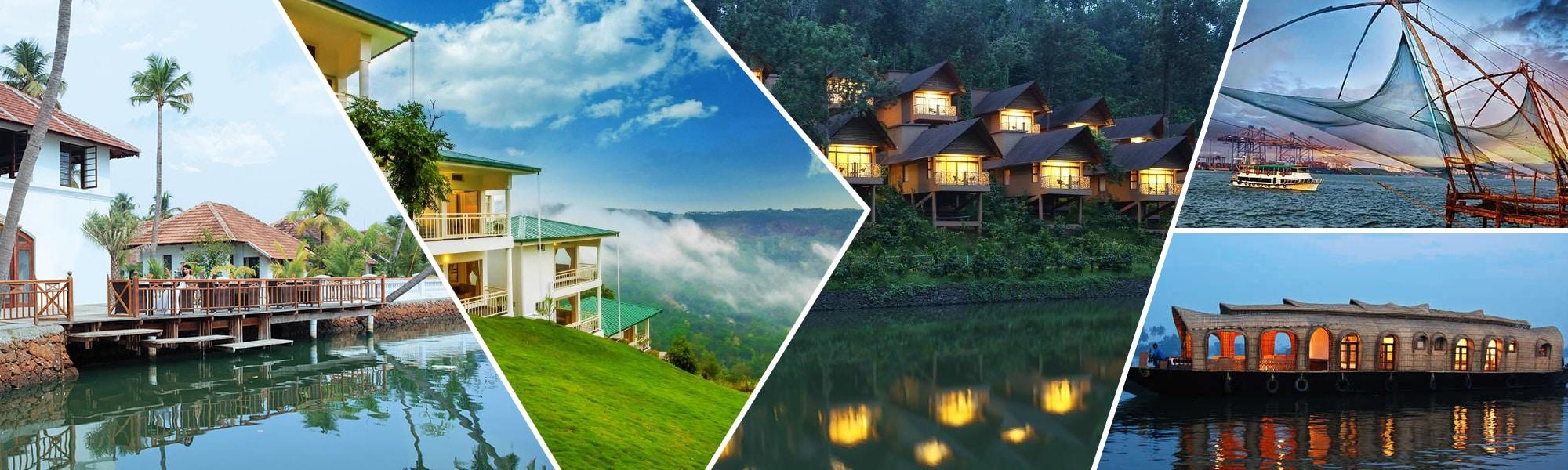 Cherai, Munnar, Thekkady, Alappuzha and Kochi – Funday Spectacular Package Tour