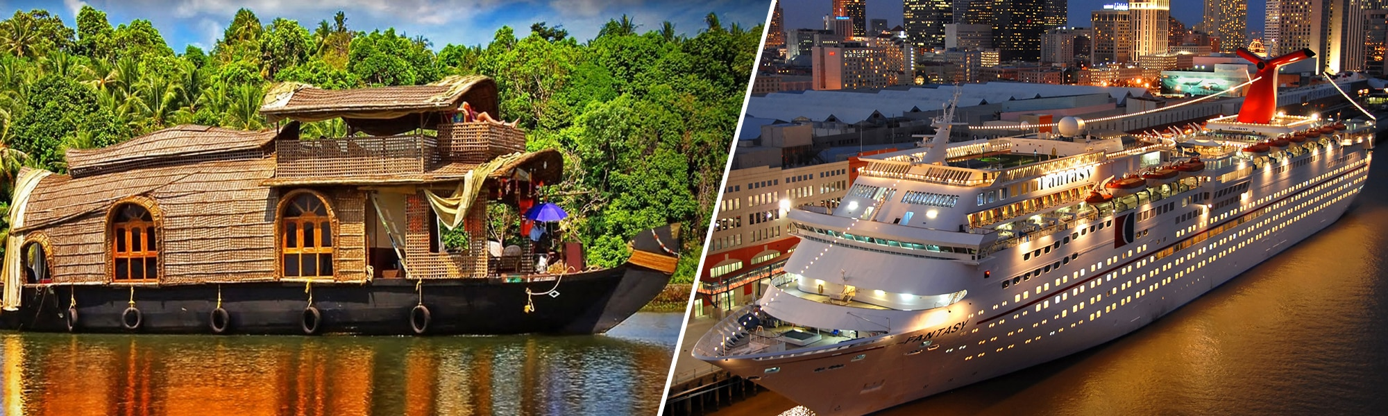 Cruise & Houseboat Tour Packages