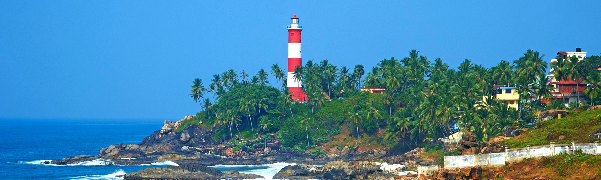 Munnar, Thekkady, Alappuzha, Thiruvananthapuram, Kovalam and Kanyakumari Holiday Package Tour