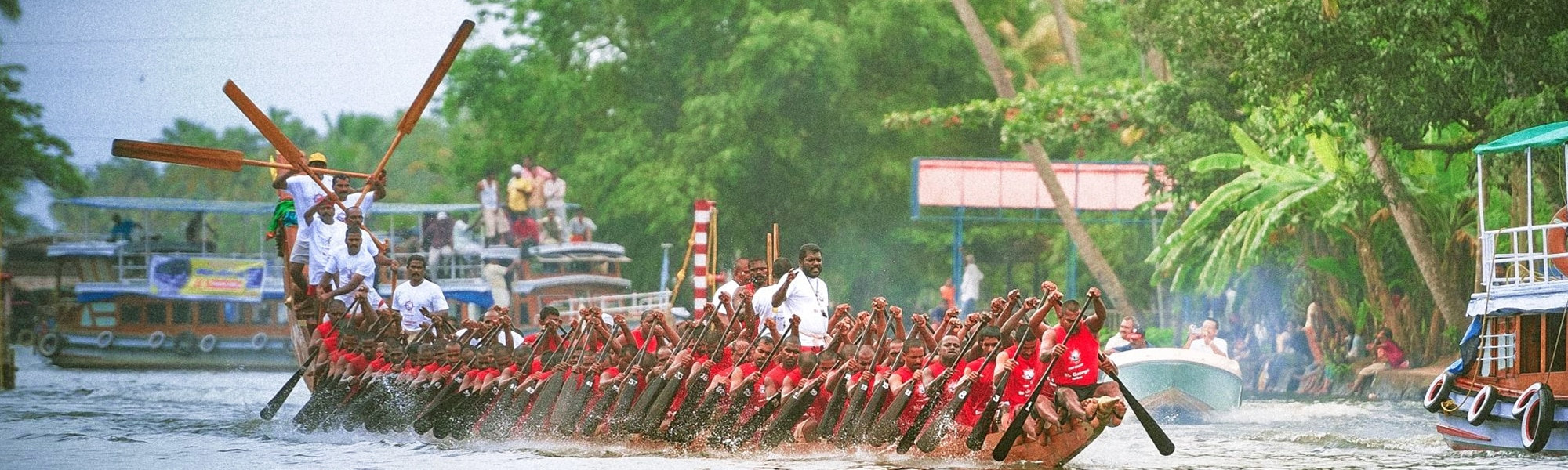 7 Exciting Boat Races in Kerala