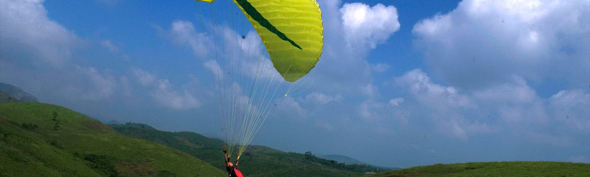 Soar High and Explore the Sky! My Paragliding experience at Vagamon.
