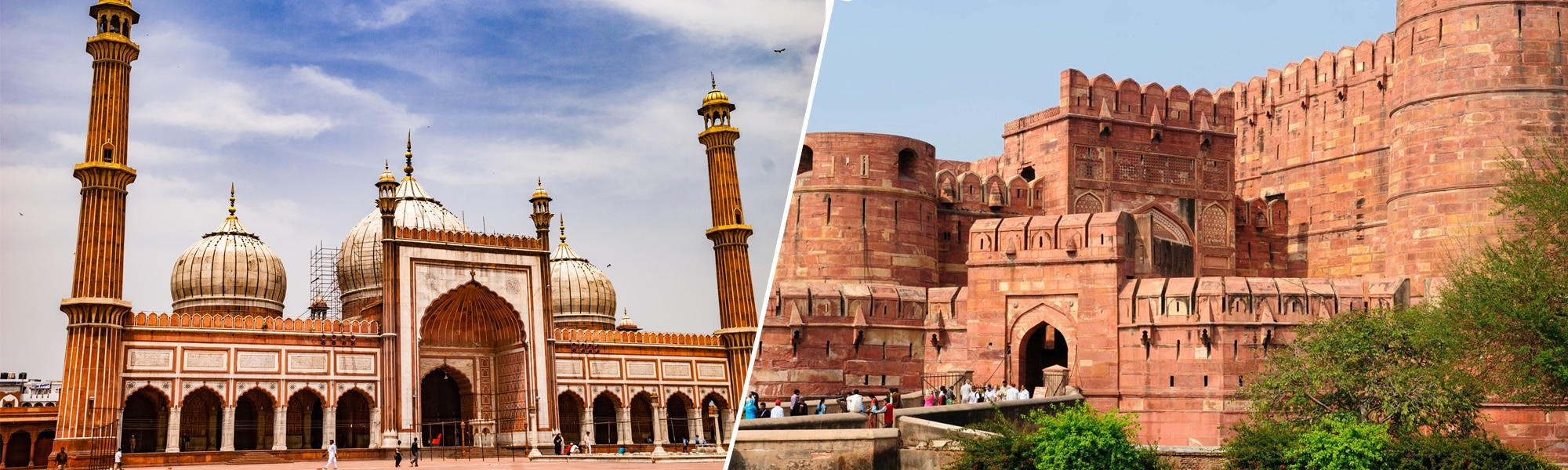 Delhi & Agra – The Golden Triangle Package Tour