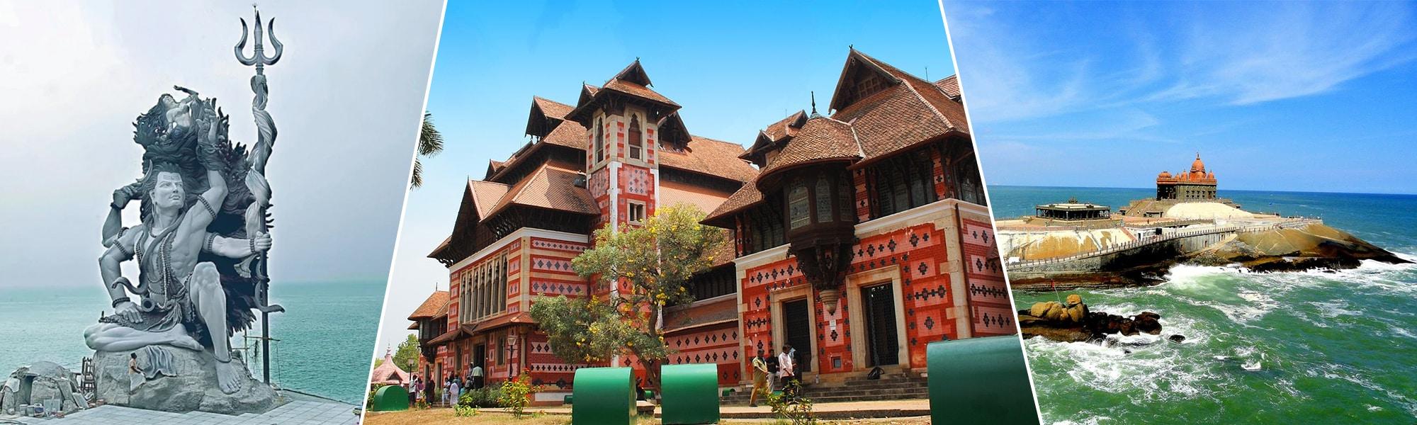 Kanyakumari Azhimala Trivandrum Tour